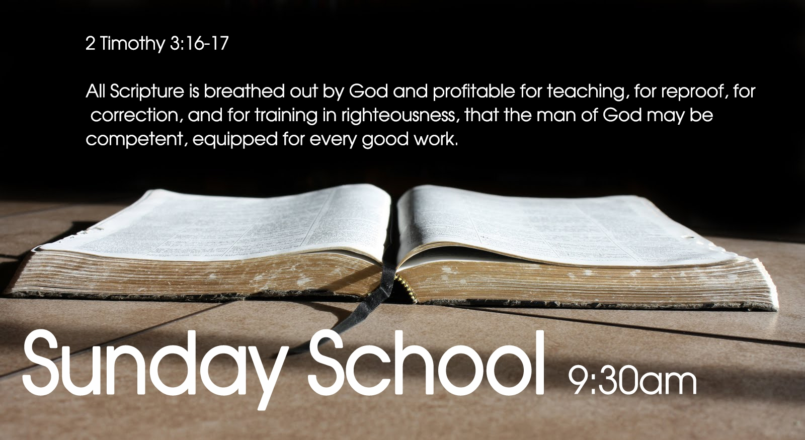 Sunday School – Adults   LIGHTHOUSE   Where Love Shines!